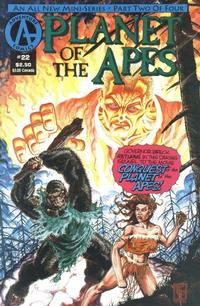 Cover Thumbnail for Planet of the Apes (Malibu, 1990 series) #22