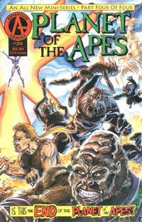 Cover Thumbnail for Planet of the Apes (Malibu, 1990 series) #24