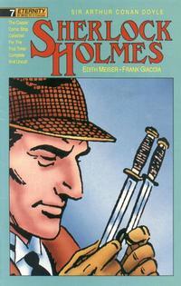 Cover Thumbnail for Sherlock Holmes (Malibu, 1988 series) #7