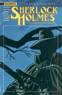 Cover Thumbnail for Sherlock Holmes (Malibu, 1988 series) #9