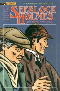 Cover Thumbnail for Sherlock Holmes (Malibu, 1988 series) #12