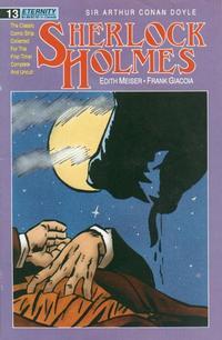 Cover Thumbnail for Sherlock Holmes (Malibu, 1988 series) #13