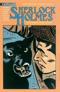 Cover Thumbnail for Sherlock Holmes (Malibu, 1988 series) #15