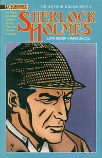 Cover Thumbnail for Sherlock Holmes (Malibu, 1988 series) #19