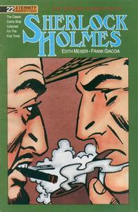 Cover Thumbnail for Sherlock Holmes (Malibu, 1988 series) #22