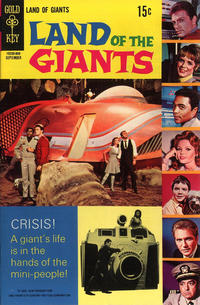Cover Thumbnail for Land of the Giants (Western, 1968 series) #5