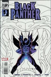 Cover Thumbnail for Black Panther (Marvel, 2005 series) #4 [Direct Edition]