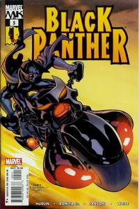 Cover Thumbnail for Black Panther (Marvel, 2005 series) #5 [Direct Edition]