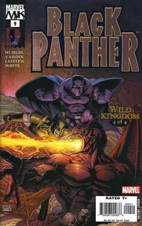 Cover Thumbnail for Black Panther (Marvel, 2005 series) #9 [Direct Edition]