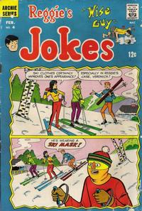 Cover Thumbnail for Reggie's Wise Guy Jokes (Archie, 1968 series) #4