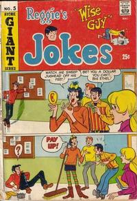 Cover Thumbnail for Reggie's Wise Guy Jokes (Archie, 1968 series) #5