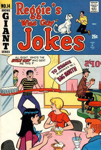 Cover Thumbnail for Reggie's Wise Guy Jokes (Archie, 1968 series) #14