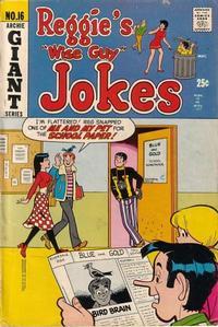 Cover Thumbnail for Reggie's Wise Guy Jokes (Archie, 1968 series) #16