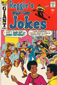 Cover Thumbnail for Reggie's Wise Guy Jokes (Archie, 1968 series) #17