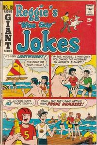 Cover Thumbnail for Reggie's Wise Guy Jokes (Archie, 1968 series) #19