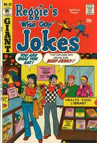 Cover Thumbnail for Reggie's Wise Guy Jokes (Archie, 1968 series) #25