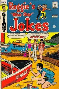 Cover Thumbnail for Reggie's Wise Guy Jokes (Archie, 1968 series) #26
