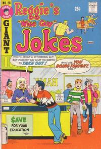 Cover Thumbnail for Reggie's Wise Guy Jokes (Archie, 1968 series) #28