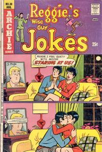 Cover Thumbnail for Reggie's Wise Guy Jokes (Archie, 1968 series) #30