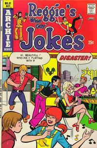 Cover Thumbnail for Reggie's Wise Guy Jokes (Archie, 1968 series) #31