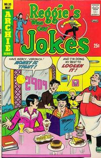 Cover Thumbnail for Reggie's Wise Guy Jokes (Archie, 1968 series) #33