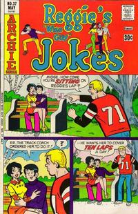 Cover Thumbnail for Reggie's Wise Guy Jokes (Archie, 1968 series) #37