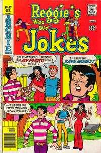 Cover Thumbnail for Reggie's Wise Guy Jokes (Archie, 1968 series) #43