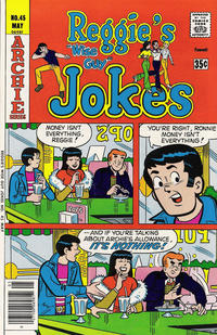 Cover Thumbnail for Reggie's Wise Guy Jokes (Archie, 1968 series) #45