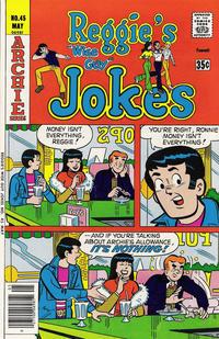 Cover Thumbnail for Reggie's Wise Guy Jokes (Archie, 1968 series) #45
