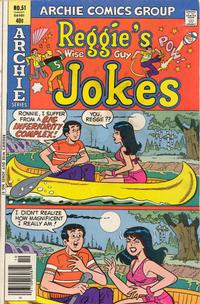 Cover Thumbnail for Reggie's Wise Guy Jokes (Archie, 1968 series) #51