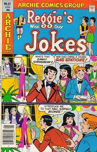 Cover Thumbnail for Reggie's Wise Guy Jokes (Archie, 1968 series) #52