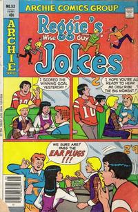 Cover Thumbnail for Reggie's Wise Guy Jokes (Archie, 1968 series) #53