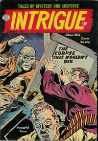 Cover Thumbnail for Intrigue (Quality Comics, 1955 series) #1