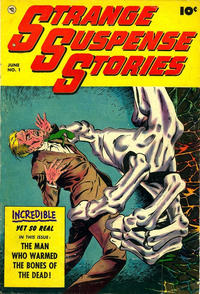 Cover Thumbnail for Strange Suspense Stories (Fawcett, 1952 series) #1