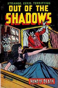 Cover for Out of the Shadows (Pines, 1952 series) #12