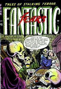 Cover Thumbnail for Fantastic Fears (Farrell, 1953 series) #4