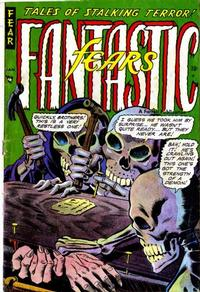 Cover Thumbnail for Fantastic Fears (Farrell, 1953 series) #5