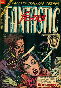 Cover Thumbnail for Fantastic Fears (Farrell, 1953 series) #8