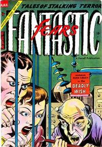 Cover for Fantastic Fears (Farrell, 1953 series) #9
