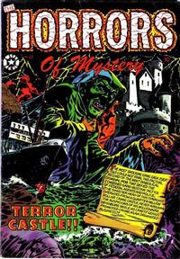 Cover Thumbnail for The Horrors (Star Publications, 1953 series) #13