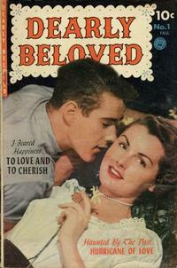 Cover Thumbnail for Dearly Beloved (Ziff-Davis, 1952 series) #1