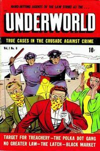 Cover Thumbnail for Underworld (D.S. Publishing, 1948 series) #v1#6