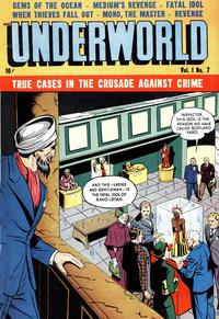 Cover Thumbnail for Underworld (D.S. Publishing, 1948 series) #v1#7