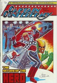 Cover Thumbnail for Captain Confederacy Special Edition (SteelDragon Press, 1987 series) #1