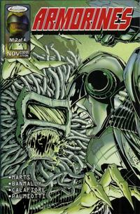 Cover for Armorines (Acclaim / Valiant, 1999 series) #2