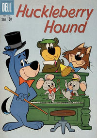 Cover Thumbnail for Huckleberry Hound (Dell, 1960 series) #8