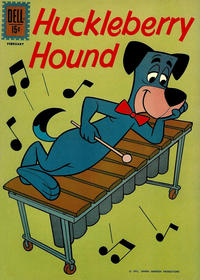 Cover for Huckleberry Hound (Dell, 1960 series) #15