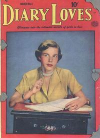 Cover Thumbnail for Diary Loves (Quality Comics, 1949 series) #4