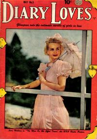 Cover Thumbnail for Diary Loves (Quality Comics, 1949 series) #5