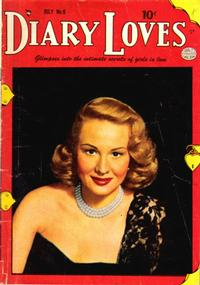 Cover Thumbnail for Diary Loves (Quality Comics, 1949 series) #6